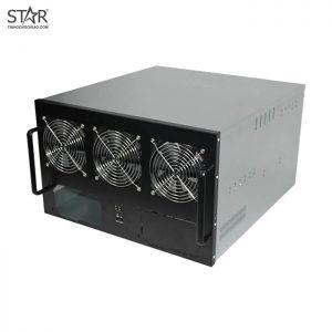 Case Bitcoin 6W (3 Fan - Lắp 6 VGA)