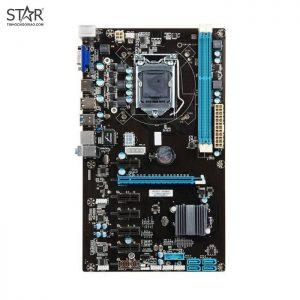Combo Main - CPU Onboard Celeron HM65 BTC 6 Slot VGA