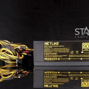 Nguồn Netlike 2000K ( 8 dây gắn VGA )