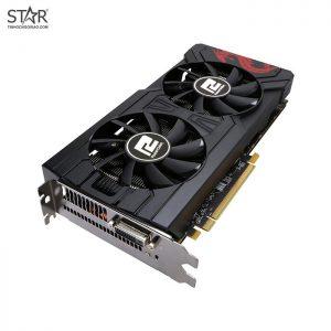VGA PowerColor RX570 4G D5 Red Dragon (DVI Port) New