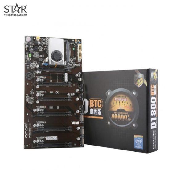 Main Onda D1800-BTC 6 Slot cắm VGA ( CPU tích hợp )
