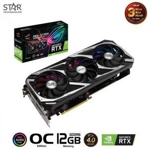 VGA Asus RTX 3060 12G GDDR6 ROG Strix Gaming OC Edition