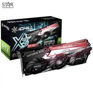 VGA INNO3D RTX 3060 12G GDDR6 IChill X3 RED
