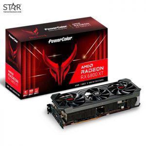 VGA Radeon RX6800XT 16G GDDR6 PowerColor Red Devil