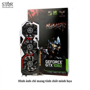 Vga Colorful Gtx1060 Utop 3G 3 Fan cũ